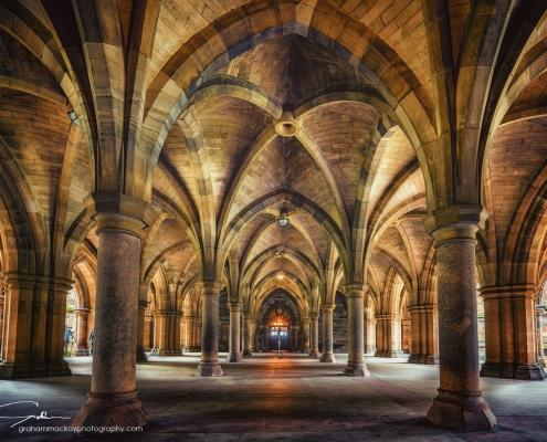 The Cloisters, Glasgow University